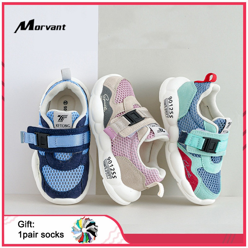 Baby Shoes Light and comfortable Baby First Walkers Elastic sole Boys Girls Casual Sneakers 3D functional Baby Toddler Shoes