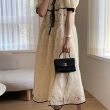 chic elegant women lace long dress 9235#