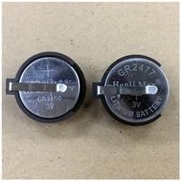 masterfire 100pcslot cr2477 2477 3v button coin cell battery socket holder case lir2477 batteries storage box organizer 2 pins