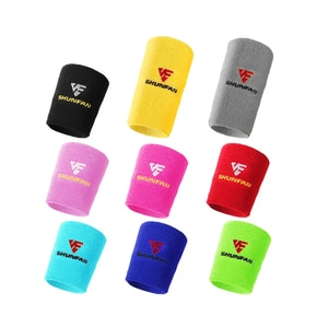 1 Pair  Multi Color Fitness Gym Sports Protection Wristband Support Towel Wrist Wraps 2021