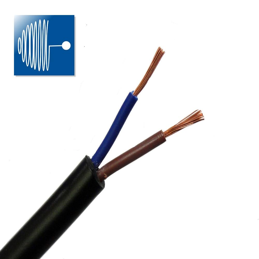 TRIUMPHCABLE/SHENGPAI alta flexibilidad 1/2M RVV cable 0,75 MM 2/3/4/5 coresmulticore negro chaqueta,...