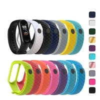 for xiaomi mi band 3 45 mi band3 bracelet for miband 5 wristband for mi band 4 smart watch replacement strap ilicone watch band