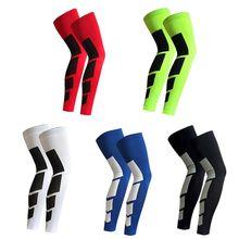 Nuovo caldo sport all'aria aperta ciclismo gamba ginocchio manica lunga protettore Gear antiscivolo scaldamuscoli 2 pz/1 pz