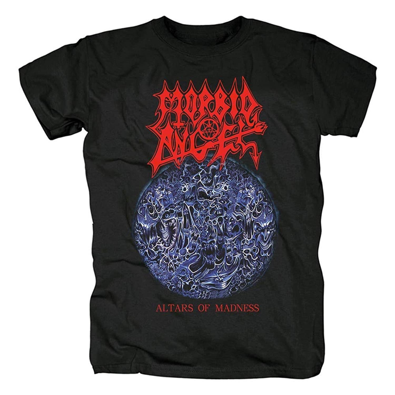 Camiseta de manga corta para hombre de camiseta morboso de Ángel Rock...