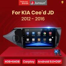 Junsun V1pro 4G + 64G CarPlay Android 9.0 DSP Per KIA Cee d CEED JD 2012-2016 auto Radio Multimedia Video Player di Navigazione GPS 2 din dvd