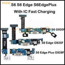 For Samsung Galaxy S6 Edge Plus S6+ G920F G925F G928F G920 G925 G928 Dock Connector Micro USB Charge