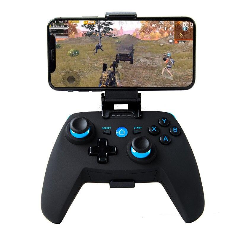 Nuevo controlador de Gamepad X1 Smurf inalámbrico Bluetooth directo sensible para juegos móviles PUBG adecuado para Android IOS Actualización de computadora G