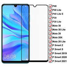 9D закаленное стекло для Huawei Mate 30 20 10 Lite 20X, Защита экрана для Huawei P30 P40 Lite E P Smart 2019 Z S, защитное стекло