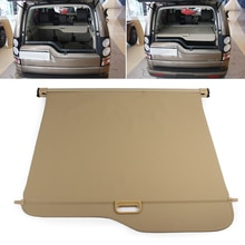 Pare-soleil pour coffre arrière de voiture   Bouclier de sécurité pour coffre arrière de voiture, protection pour Land Rover Discovery 3/4 LR3 LR4 2010 2011 2012-2015