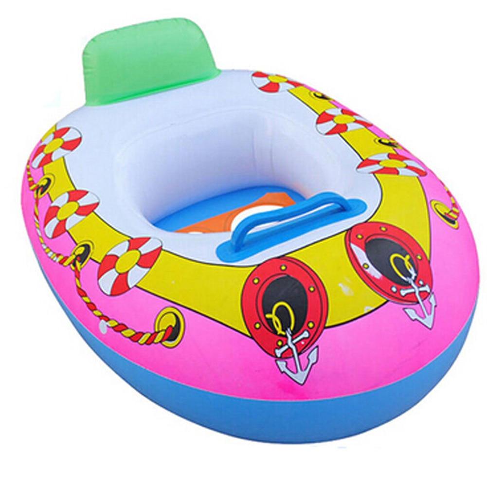 Cercles de natation gonflables enfants bébé siège de natation anneau de natation piscine aide formateur plage bateau flottant pour 2-5 ans enfant #0123