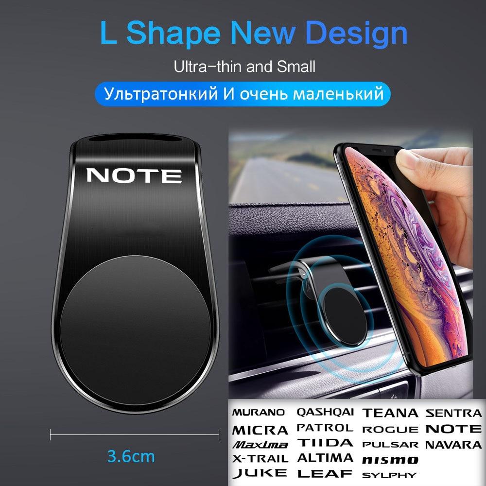 Автомобильный держатель для телефона для Nissan NOTE, автомобильная подставка для мобильного телефона, Магнитная подставка для телефона