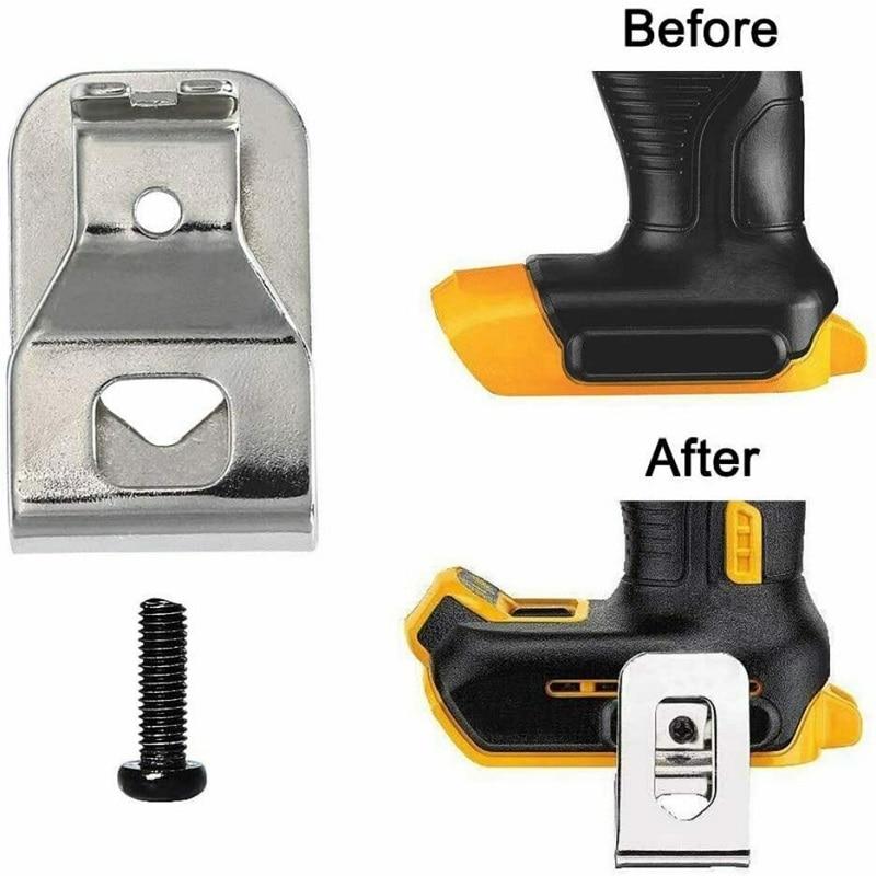 12Pcs/bag Belt Clip Hook for Dewalt 20V Max Tools for DCD740B DCD740B-B3 DCD740C1 DCD771C2, DCD780B DCD780C2 Easy Installation enlarge