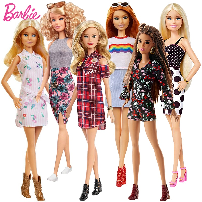 Muñecas Barbie de pelo rubio Bjd para niñas, accesorios originales, Juguetes para...