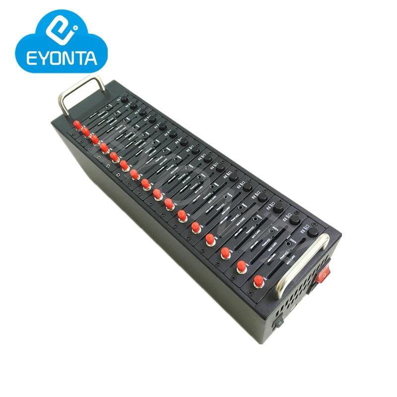3G módem GSM piscina 16 puerto GSM sms piscina de módem UC15-E 3G 900/2100MHZ