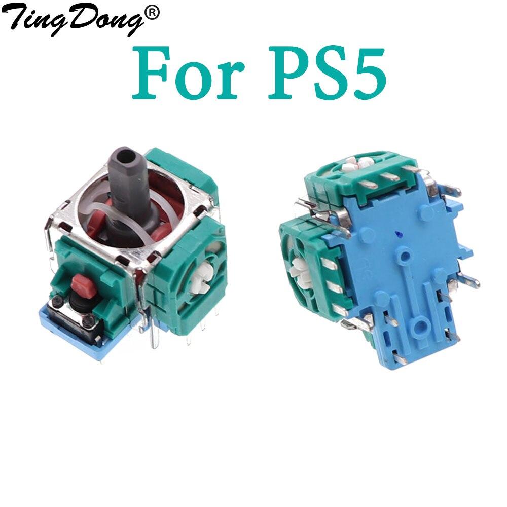 1 шт. Оригинальный 3D Аналоговый джойстик захват запасные части сенсорный модуль потенциометр для контроллера Sony Dualshock 5 PS5 геймпад