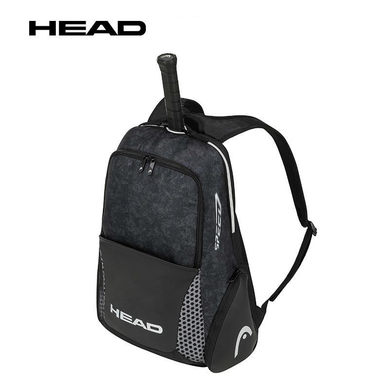 Head Tennis Backpack Djokovic Radical Bag Original Head Tennis Sports Storage Bags Tenis Racket Raquete Polyester Nylon Backpack head сумка для 9 ракеток head djokovic 9r supercombi