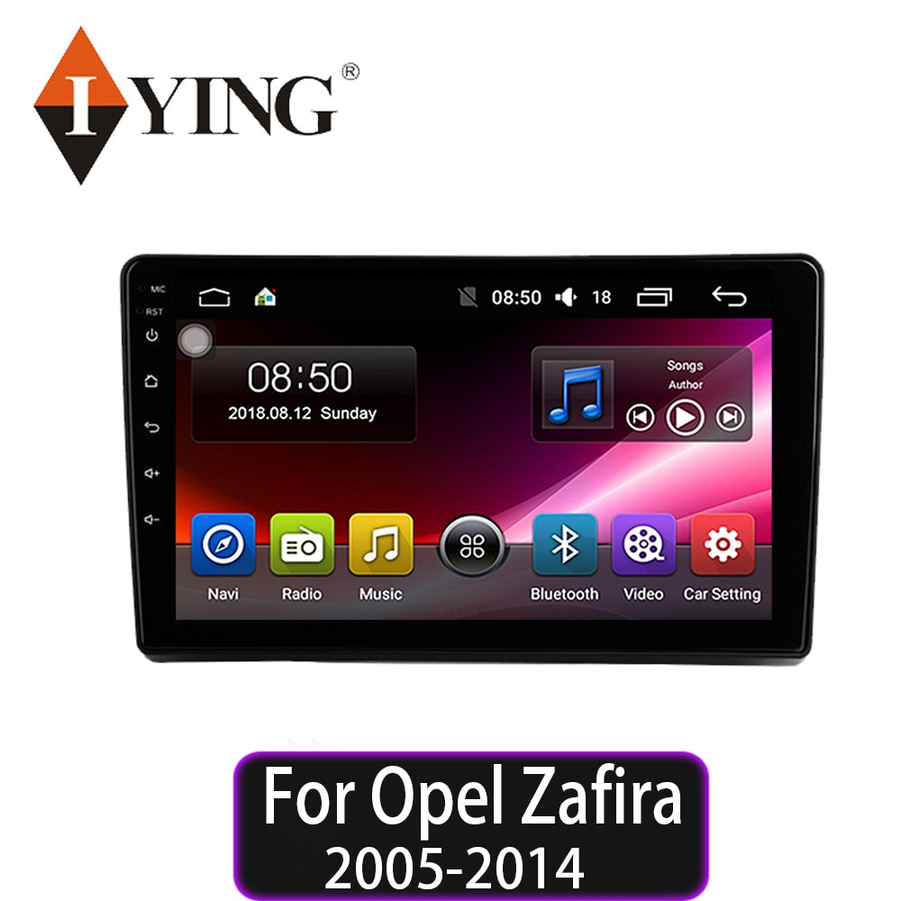 IYING para Opel Zafira 2005 2006 2007 2008 2009 2010 2012 2013 2014 reproductor Multimedia de Radio para coche navegación GPS Android 9