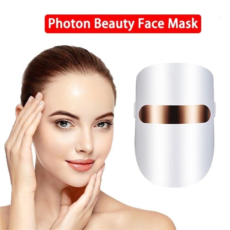 قناع الفوتون LED لتجديد شباب الوجه ، أداة العلاج المضادة للتجاعيد ، حب الشباب ، شد الجلد ، XA119U