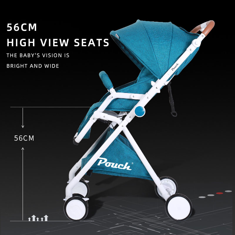 A06 Baby Stroller Cart Baby Cart Collapsible Light  Available In All Seasons High Landscape enlarge