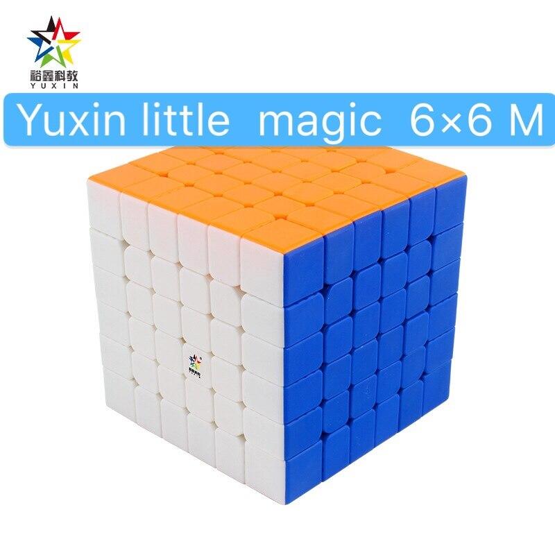 2020 YuXin Little Magic M 6x6 cubos magnéticos de velocidad 6x6x6