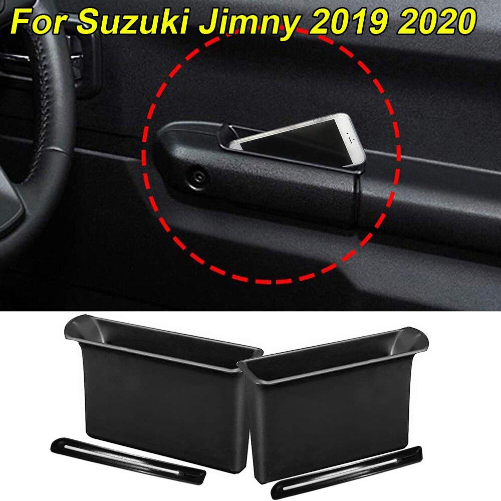 Für Suzuki Jimny 2019 2020 Armlehne Container Tür Lagerung Box Griff Tasche 2 stücke umweltschutz