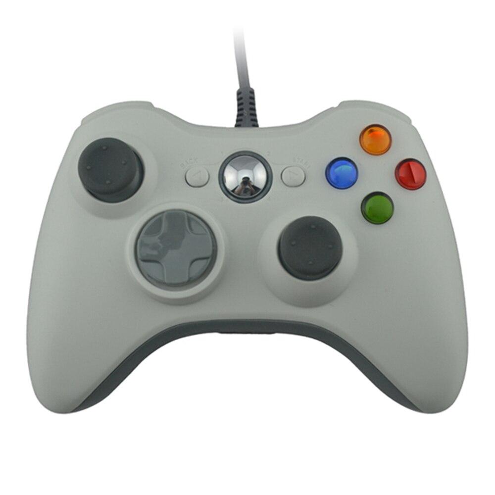 10 قطعة تحكم الكمبيوتر السلكية ل xbox360 غمبد USB أذرع التحكم في ألعاب الفيديو ل PC المقود ل Xbox 360