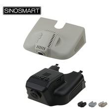 SINOSMART Novatek 96658 Wifi DVR para Mercedes Benz clase ML Modelo General teléfono inteligente de Control SONY IMX323