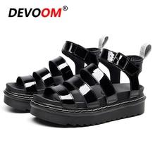 Outdoor Beach Girl Chunky Sandals Women Slippers Summer Sport Platform Female Shoes Leather Sandalias Mujer 2020 Femmes sandales