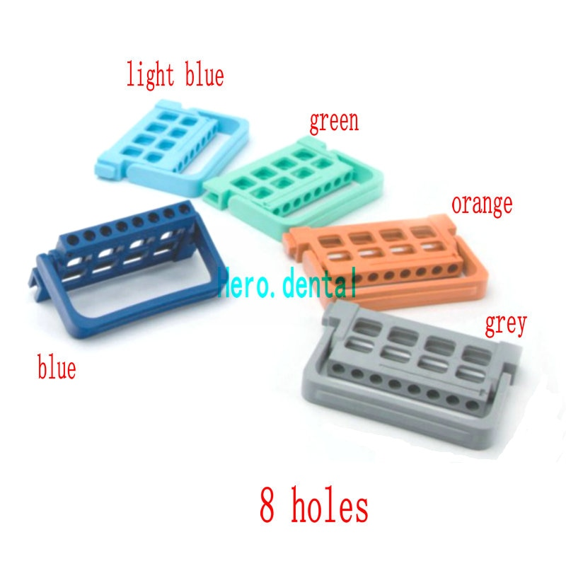 5 uds. Dispensador de endodoncia Dental, soporte para taladro, soporte para taladro, Autoclavable, nuevo