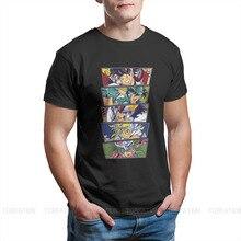 Saint Seiya Manga dessin animé les chevaliers hommes t-shirt Anime surdimensionné pur coton t-shirts Harajuku t-shirt