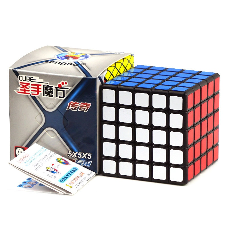 Sheng Shou Chuan Qi 5x5x5 Magic Cube game professional adult children puzzle speed toy smooth educational Cubo Magico gift