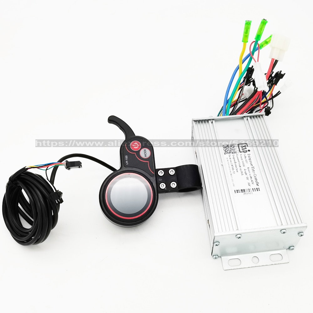48V 500W Electric Bicycle Controller Waterproof LED LCD Display Brushless Electric Bike E-bike Scooter Controller