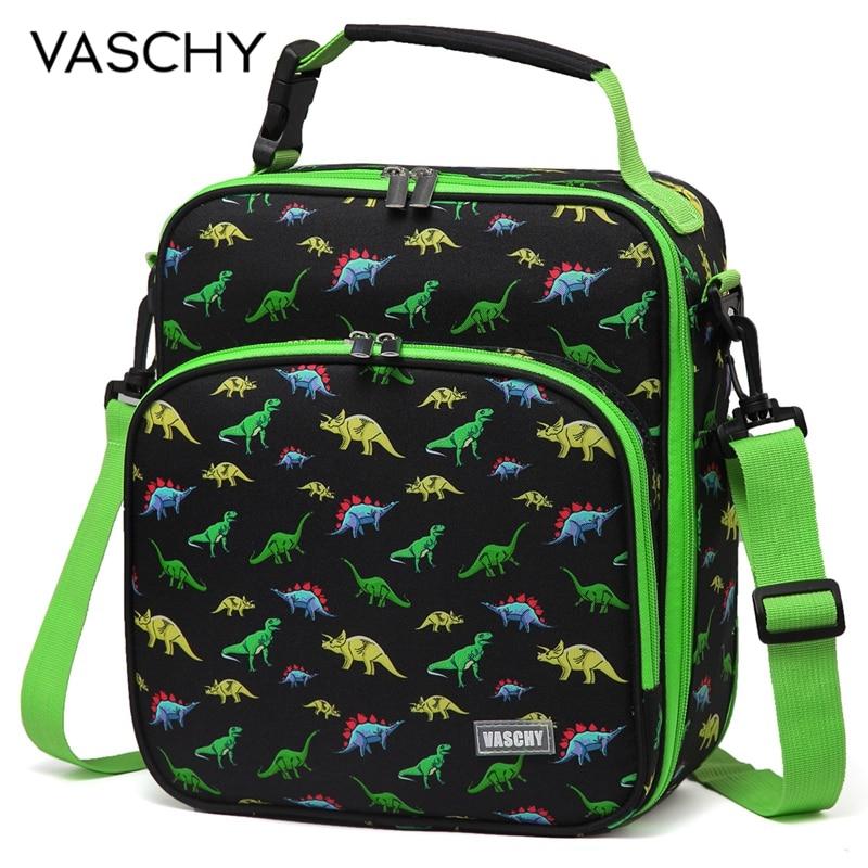 Многоразовый Ланч-бокс VASCHY, изолированный Ланч-бокс для мальчиков и девочек с динозавром, космонавтом, единорогом