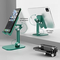Подставка-держатель для смартфонов и планшетов, гибкая, металлическая, складная, мобильный телефон градусов