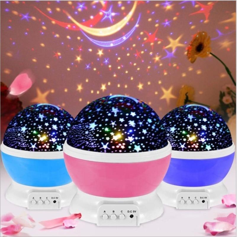 ночник проектор miniland dreamcube 89196 Проектор звездного неба, звезда, луна, Галактический ночник для детей, декор для детской спальни, проектор, светодиодный ночник для детской ...