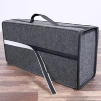 for car storage bag car seat organizer fireproof stowing gadget multi pocket waterproof holder cargo container box