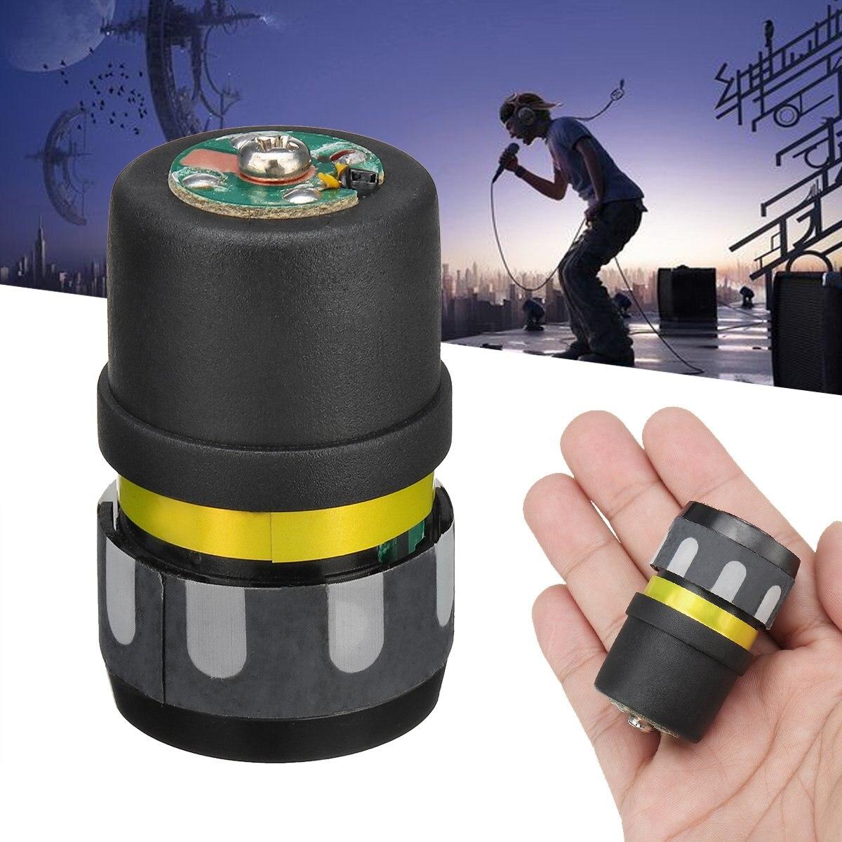 Reemplazo de cartucho de micrófono dinámico, núcleo de cápsula de micrófono para reparación de micrófono inalámbrico