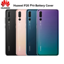 Back Housing Cover For Huawei P20 Pro 3D Glass Rear Door Fitted Phone Case Replacement Part & Adhesi