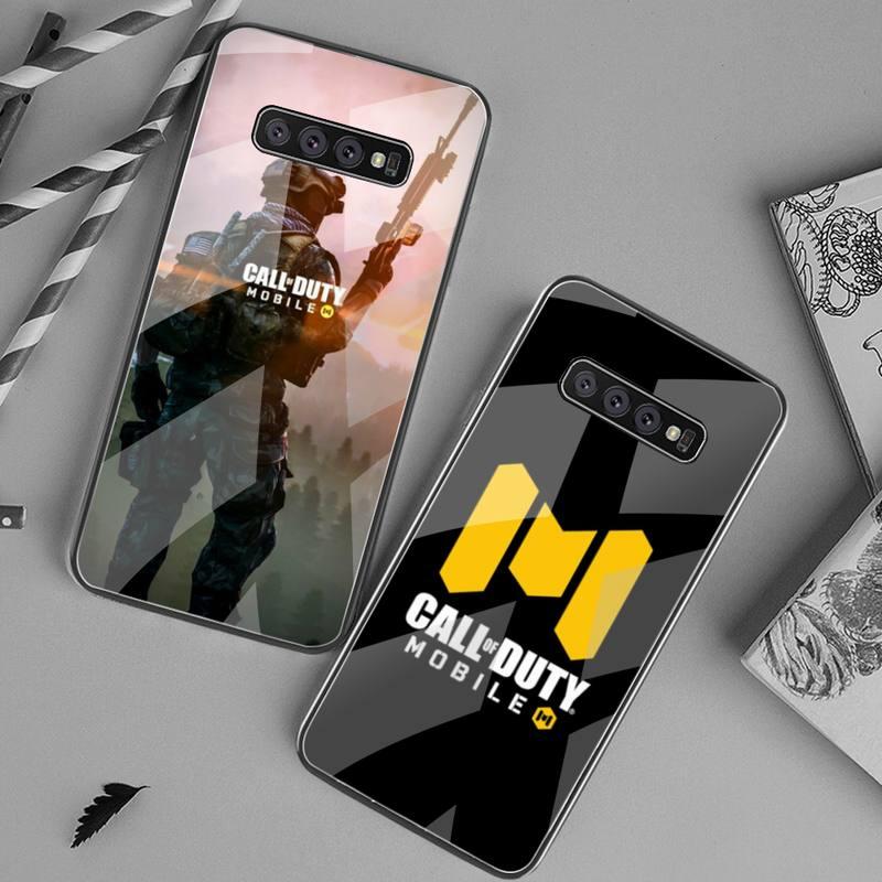 USAKPGRT-funda de teléfono con cristal templado para Samsung S20 Plus, S7, S8,...