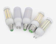 TSLEEN E27 220V LAMPE À LED 5730 SMD LED Ampoule E14 MAÏS 24 36 48 56 69 72 Leds lampe Bombillas Ampoules Lampada Ampoule Déclairage
