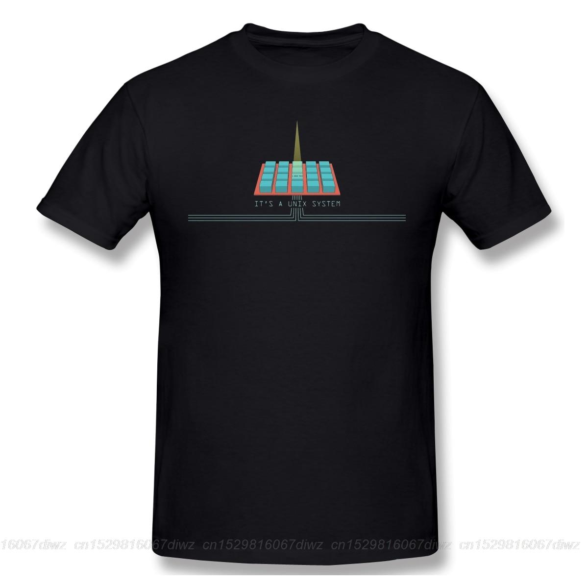 linux Computer operating system Geek T Shirt Red T-Shirt 6xl Cute Tee Shirt Graphic Jurassic Park Unix System Tshirt