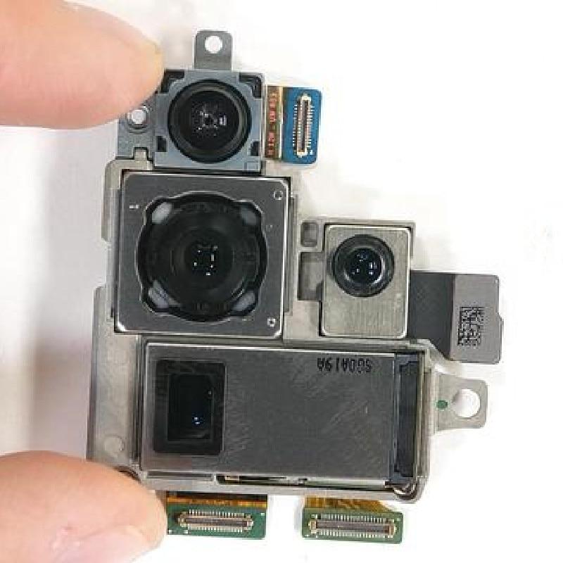 100% اختبار OEM الكاميرا الخلفية لسامسونج غالاكسي S20 الترا G988B G988F G988U G9880