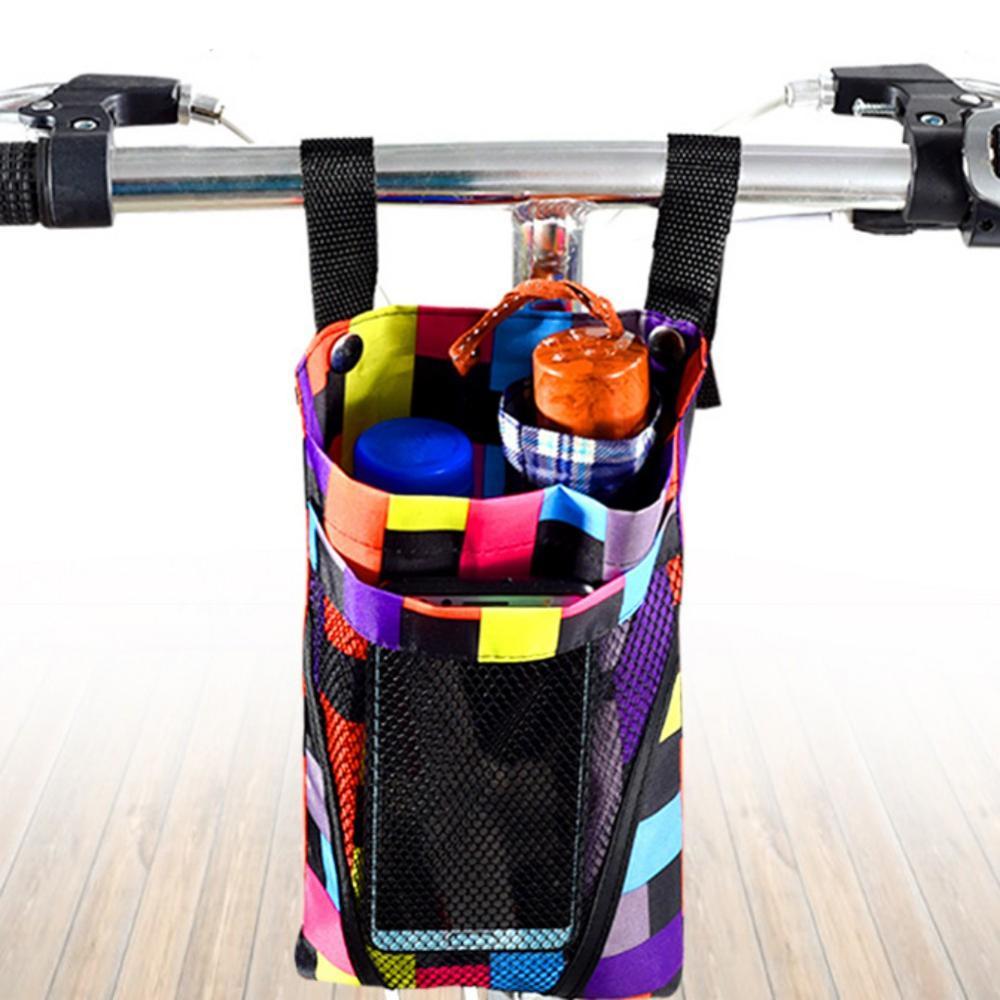 Велосипедная сумка, Водонепроницаемая передняя сумка для хранения, мобильный телефон для мотоцикла, велосипеда, водная чашка, корзина для т...