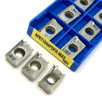 apkt1604 ma h01 milling indexable tools apkt 1604 ma3 g2 high quality aluminum inserts cnc cutting wood turning tool