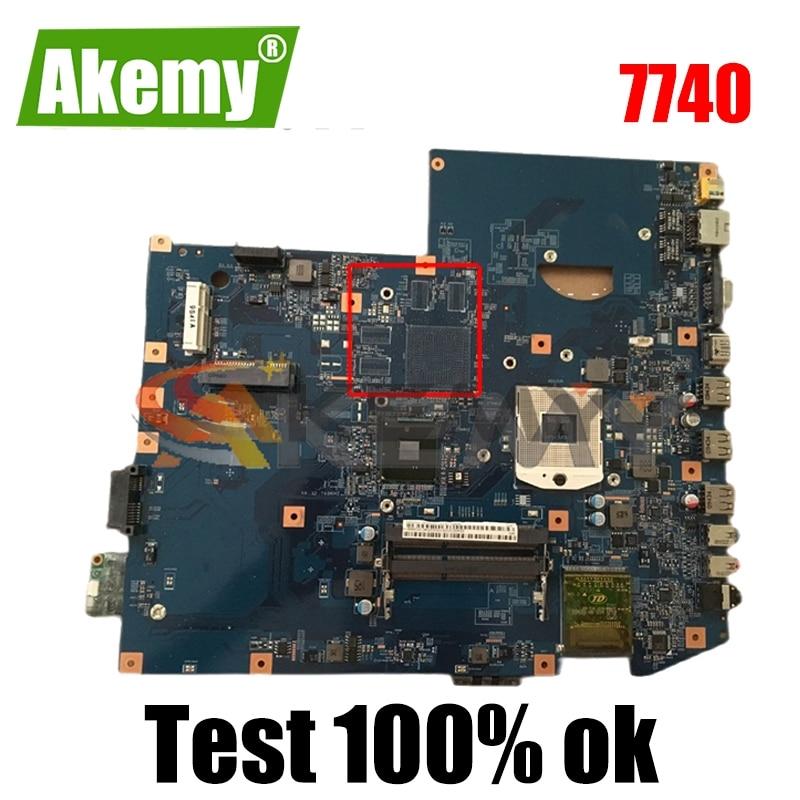 AKEMY MBPLY01001 MB.PLY01.001 اللوحة الأم للكمبيوتر المحمول لشركة أيسر أسباير 7740 48.4GC01.011 HM55 DDR3 اللوحة الرئيسية DDR3 يعمل