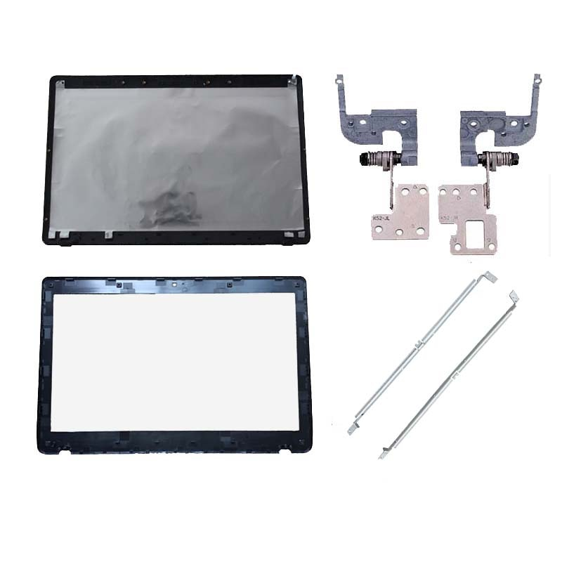 Cubierta de portátil para Asus K52 A52 X52 K52f K52J K52JK A52JR X52JV A52J 13GNXZ1AM044-1 cubierta posterior LCD/bisel frontal LCD/bisagras/soporte
