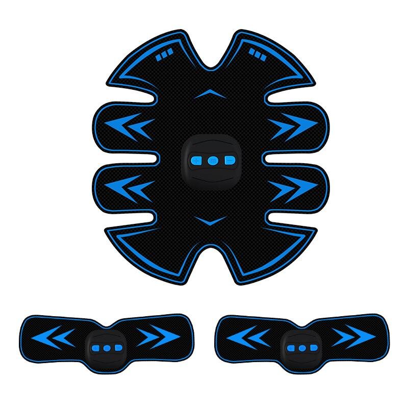 Máquina de ejercicio estimulador muscular Abdominal Abs entrenador de cuerpo formación vibratorio masajeador equipo de gimnasio para hombres y mujeres