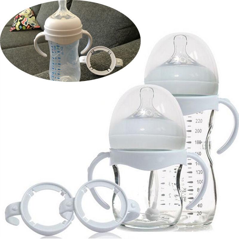 De alta calidad botella de mango para Avent Natural amplia PP boca de alimentación de bebé botellas de botella de bebé Accesorios