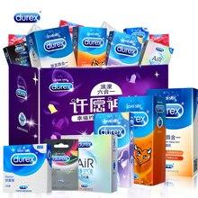 Durex Sex 6in1 Gemischt 100 pcs/lot Kondome Männer Penis Hülse Ultra Dünne Kondom Erwachsene Sex Spielzeug Produkte