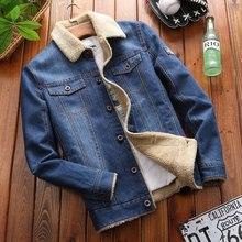Hiver Denim vestes pour hommes moto hommes jean vestes Streetwear automne hiver polaire chaud grande taille manteau hommes vêtements dextérieur 6XL